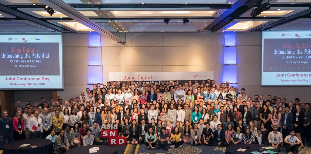 oing Digital — Unleashing the Potential for SNRD Asia and TUEWAS 14 – 18 May 2018 | Bangkok, Thailand