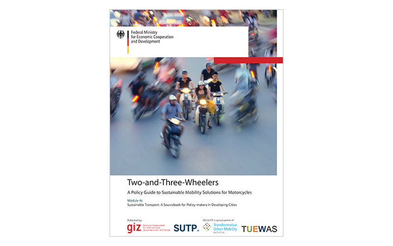 2017 Updated SUTP-Sourcebook Module 4C: Two-and-Three-Wheelers - A Policy Guide to Sustainable Mobility Solutions for Motorcycles